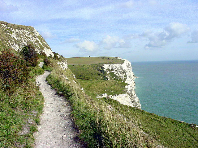 White Cliffs of Dover path